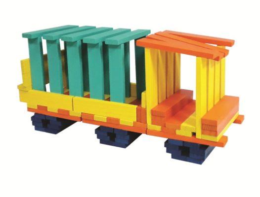 đồ chơi xếp hình kapla cities block sáng tạo