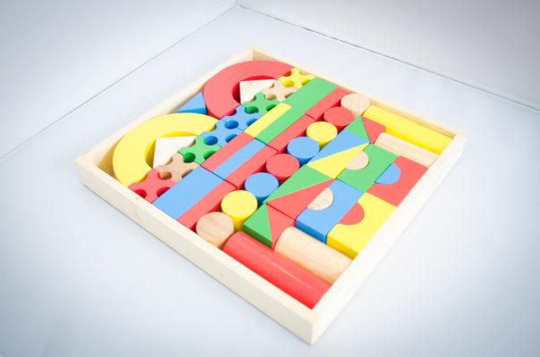 đồ chơi xếp hình 51 chi tiết