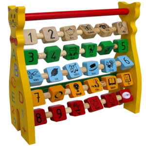 đồ chơi gỗ bảng chữ cái tiếng việt xoay mèo ACB