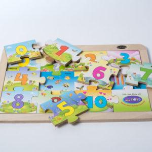 đồ chơi gỗ bảng ghép chữ số