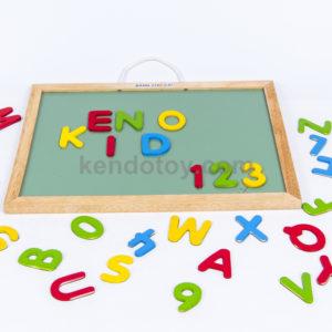 đồ chơi gỗ bảng chữ cái nam châm