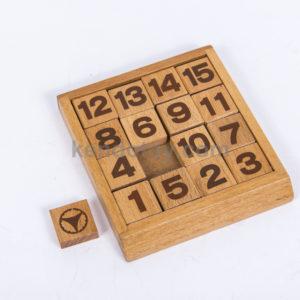 đồ chơi logic gỗ bộ đẩy số