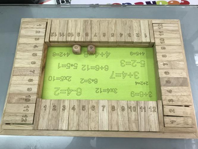 đồ chơi gỗ cho bé đấu trường 4 người
