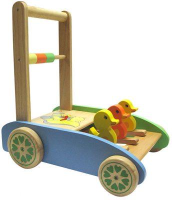 xe tập đi bằng gỗ an toàn