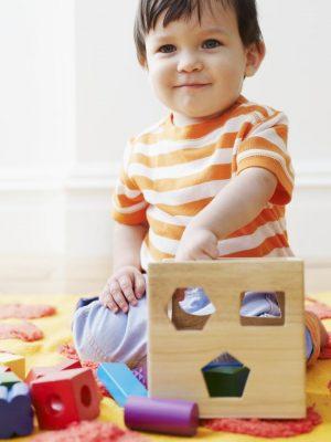 đồ chơi gỗ, đồ chơi nhận hình