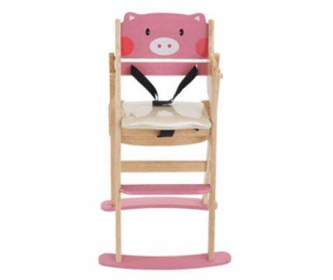 ghế ăn dặm bằng gỗ
