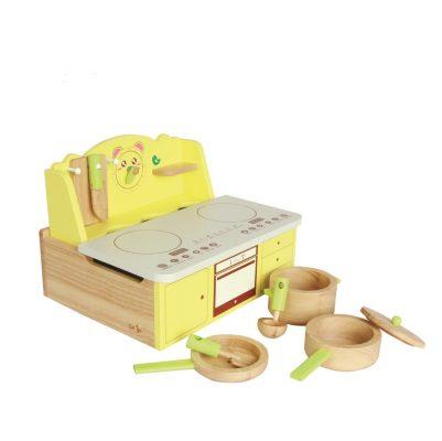 đồ chơi gỗ bếp đồ chơi nấu ăn