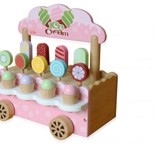 xe kem bằng gỗ