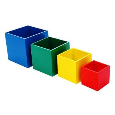 đồ chơi giáo dục lồng hộp vuông