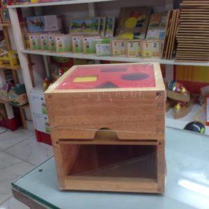 Đồ chơi gỗ hộp thả khối