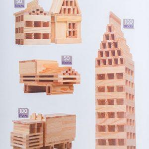 Kapla Đồ chơi xây dựng thành phố