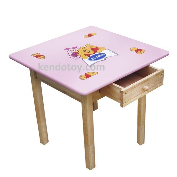 bàn ghế trẻ em bàn vuông