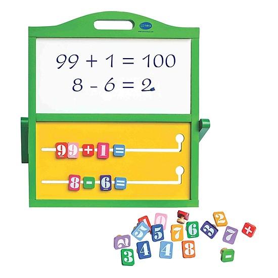 bảng tính thông minh đồ chơi gỗ cho bé