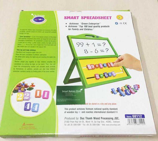 Bảng tính thông minh đồ chơi giáo dục