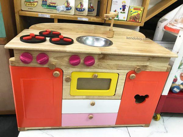 bếp đồ chơi gỗ lớn