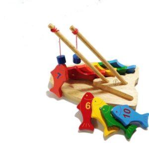 đồ chơi câu cá bộ câu cá 10 số