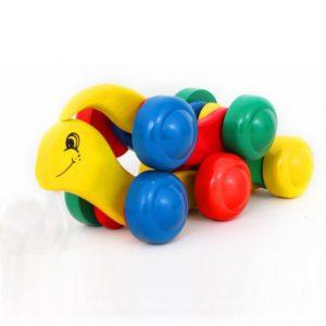 đồ chơi gỗ con rắn kéo