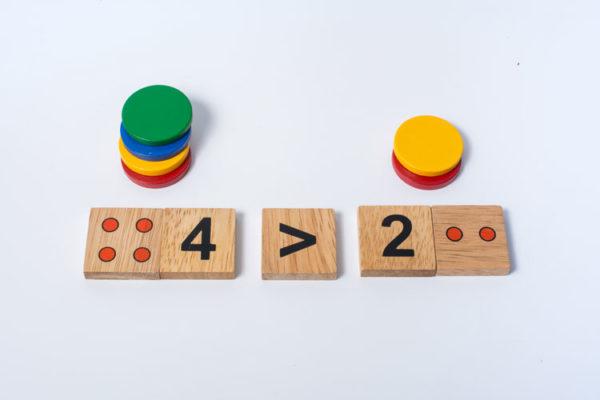 đồ chơi giáo dục bộ học toán