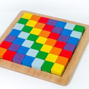 đồ chơi xếp hình thông minh bộ xếp hình cầu vòng