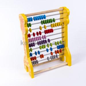 đồ chơi gỗ bảng tính học đếm