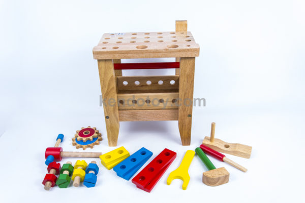 bộ bàn gỗ lắp ráp kỹ thuật
