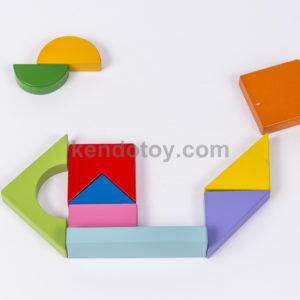 đồ chơi gỗ ghép hình lục giác