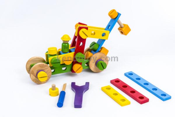 đồ chơi gỗ bộ lắp ráp sáng tạo