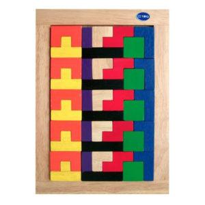 đồ chơi gỗ bộ xếp gạch nhỏ