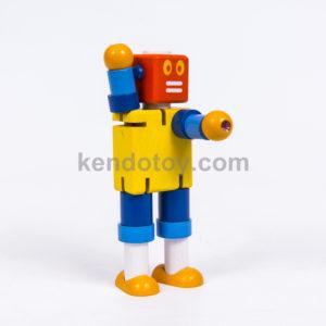 đồ chơi gỗ cậu bé người máy
