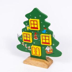 đồ chơi gỗ cây thông dễ thương