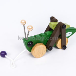 đồ chơi bằng gỗ con châu chấu