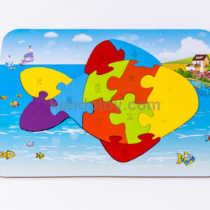 puzzle cá