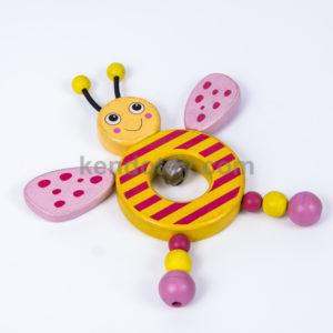 đồ chơi gỗ cho bé lắc con ong