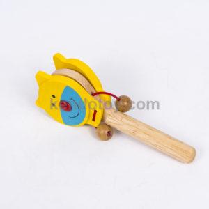 đồ chơi gỗ lúc lắc mèo