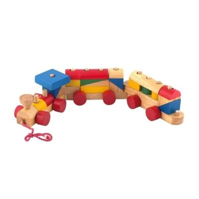 tàu hỏa lắp ráp đồ chơi gỗ