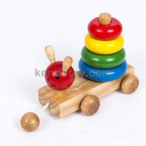 đồ chơi gỗ an toàn