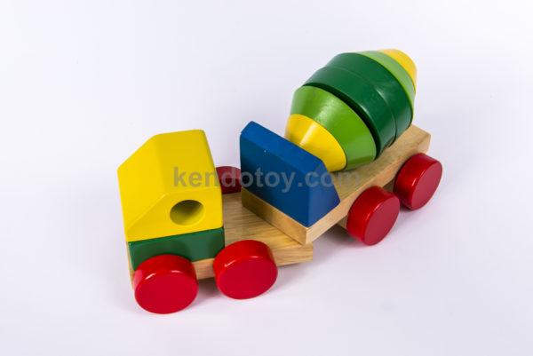 đồ chơi lắp ráp bằng gỗ