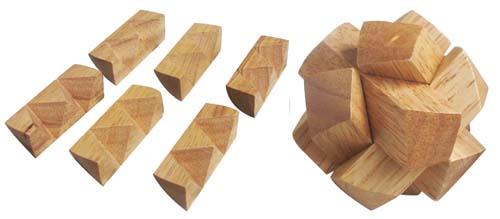 đồ chơi gỗ bộ ba thách thức