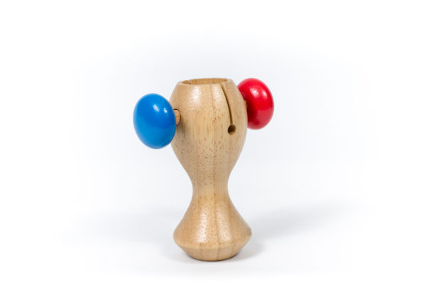 lắc trống đồ chơi gỗ cho bé