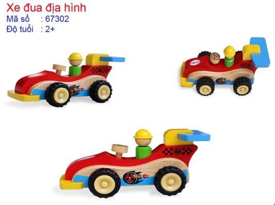 xe gỗ đồ chơi