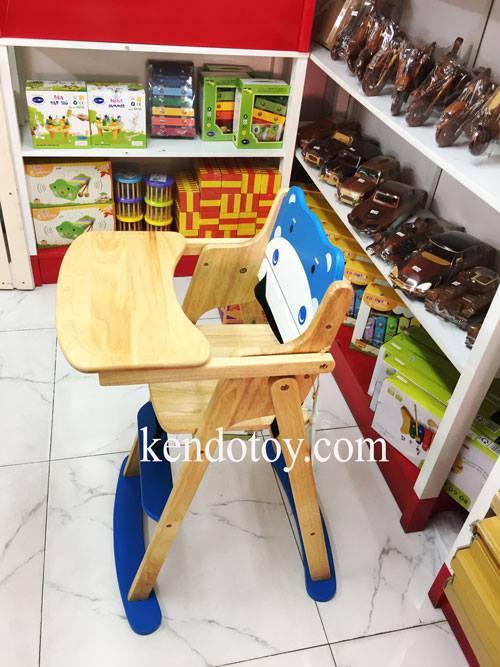 ghế ăn bột heo con bằng gỗ