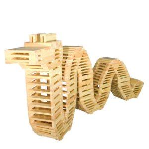 Đồ chơi gỗ citi block kap la xếp hình