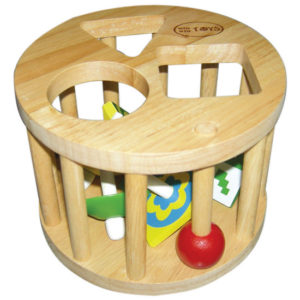 đồ chơi gỗ lồng tròn 6 con vụ