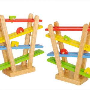 đường trượt bằng gỗ đồ chơi