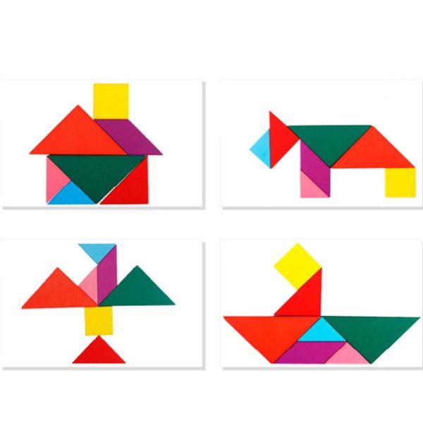 tangram đồ chơi gỗ