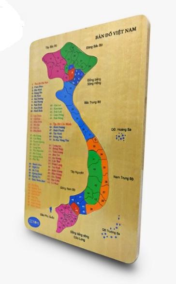 tranh ghép bản đồ việt nam