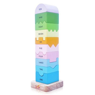 đồ chơi xếp tháp