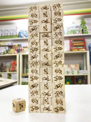 đồ chơi rút gỗ - rút tháp