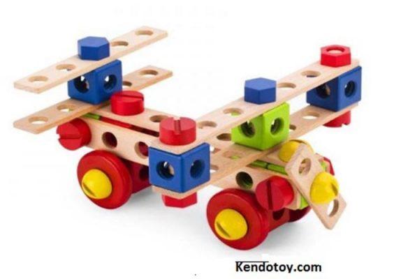 đồ chơi máy bay gỗ