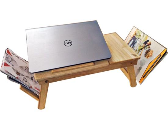 Bàn laptop đa năng bằng gỗ